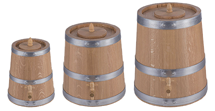 Oak vinegar barrels - small barrel